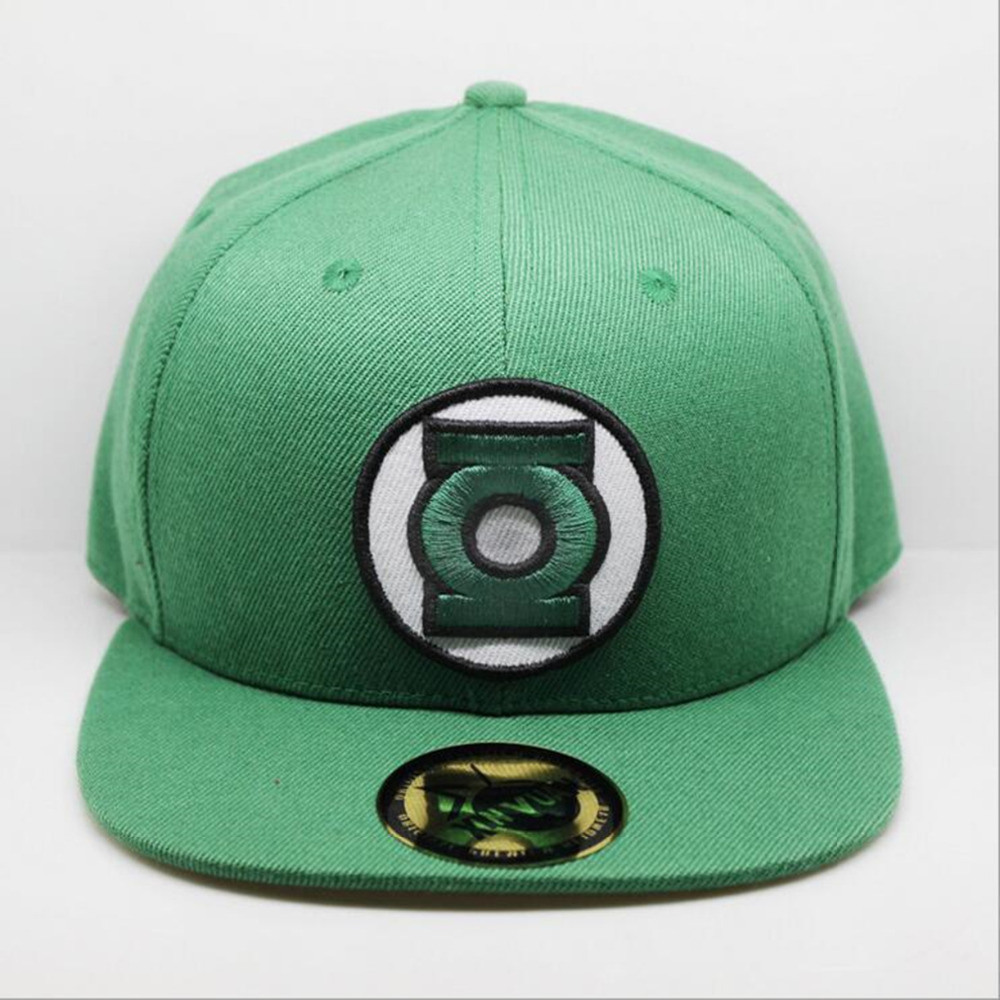 New Arrival Green Lantern Cosplay Cap Marvel Comics Hero ladies dress Hat charm Costume Props Baseball cap canvas snapback caps wuhaobo the new arrival of the cashmere knitting wool ladies hat winter warm fashion cap silver flower diamond women caps