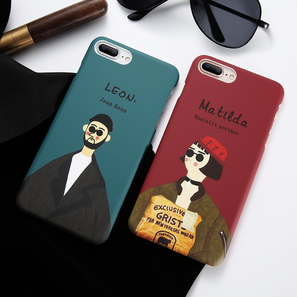 KISSCASE Couple Case For iPhone 5 5S SE Cover Case For iPhone 6 6S Plus 7 8 Plus Cool Te ...