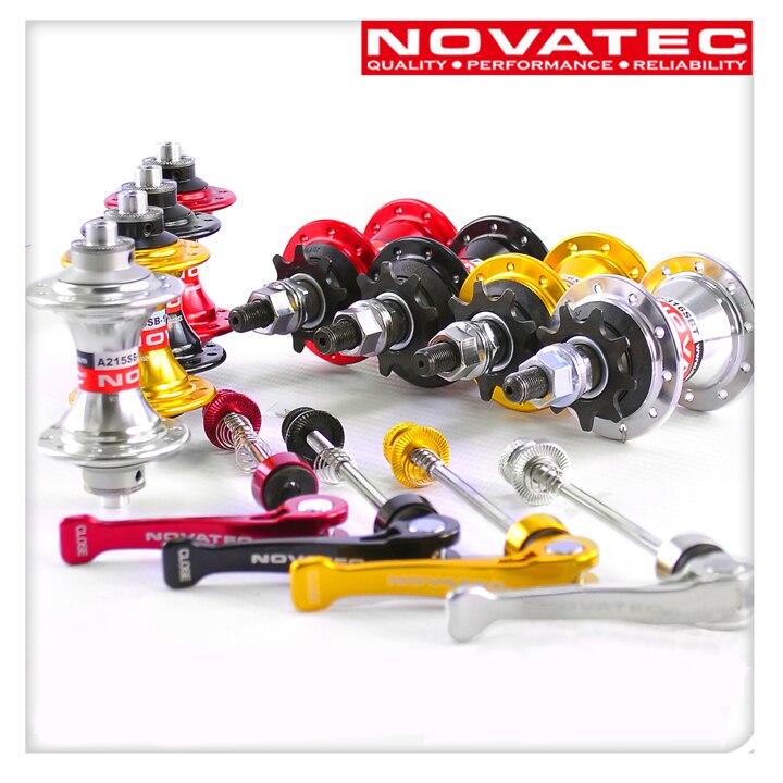 Moyeux Novatec roulements étanches à une vitesse 20 trous avant 74mm arrière 85mm largeur espacement adapté pour mini vélo vélo pliant BYA412
