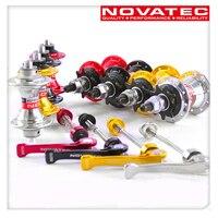 Novatec Hubs hub Sealed Bearings single speed 20 holes front 74mm rear 85mm width spacing fit for mini bike folding bike BYA412
