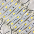 20 piezas 5630 3 módulo LED iluminación para firmar DC12V impermeable Super brillante smd led módulos Blanco/blanco cálido azul/rojo/color