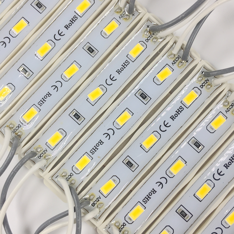 20PCS 5630 3 LED Module lighting for sign DC12V Waterproof superbright smd led modules Cool white / Warm white/Blue/Red color 20pcs 5050 5 led module lighting dc12v waterproof led modules white warm white red green blue color 20pcs lot