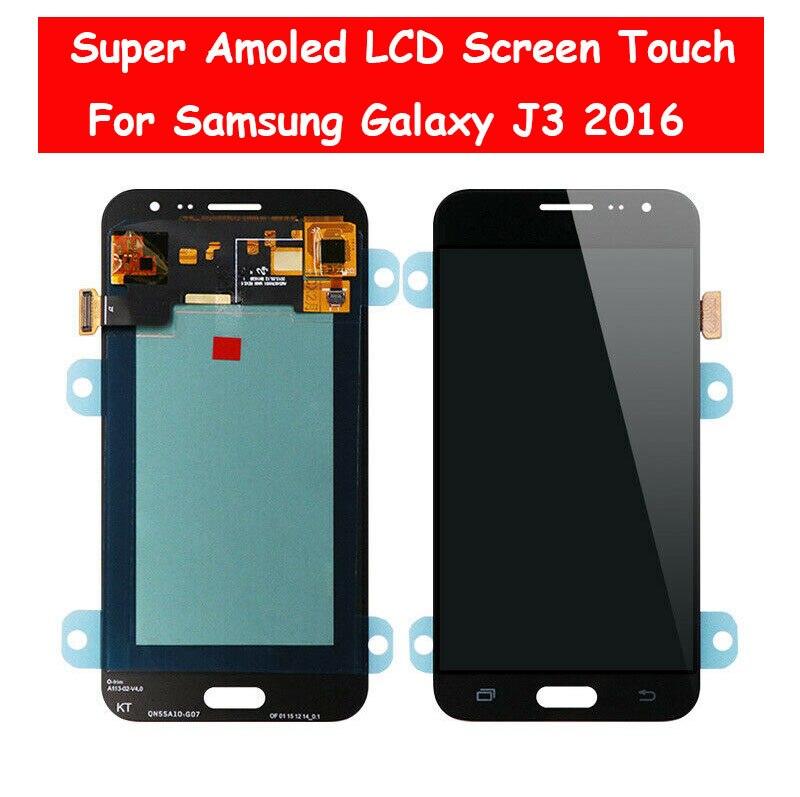 Super AMOLED LCD Display For Samsung Galaxy J3 2016 J320 J320A J320F J320P J320M J320Y J320FN LCD Screen Touch DigitizerSuper AMOLED LCD Display For Samsung Galaxy J3 2016 J320 J320A J320F J320P J320M J320Y J320FN LCD Screen Touch Digitizer