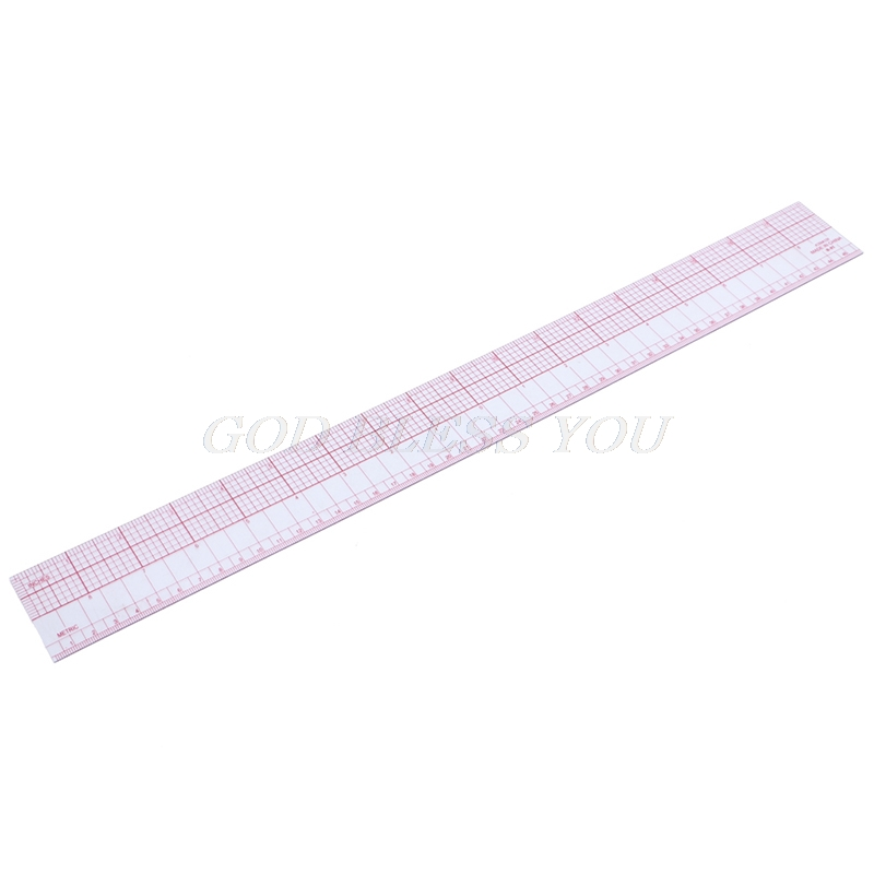 Multi-function Grading Ruler For Making Clothes Tailor Sewing Craft Tool Plastic