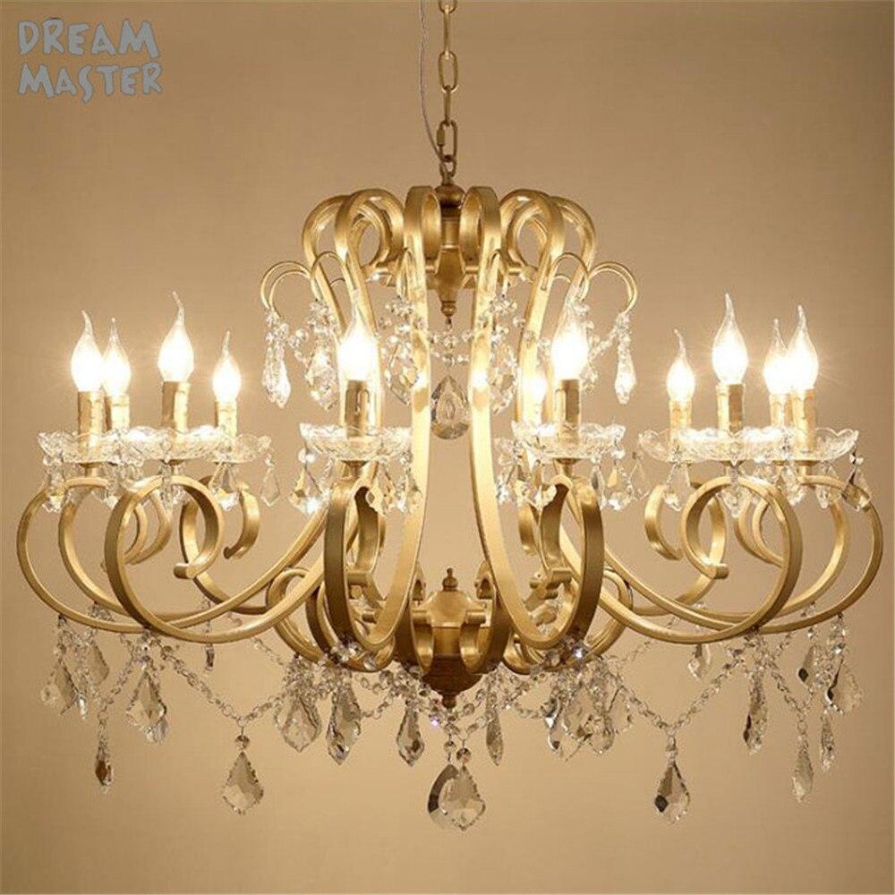 American country art chandelier, European Mediterranean French ...
