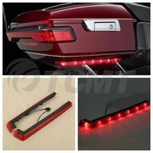 Tour Pak Pack Accent Side Panel LED Light For Harley Davidson Touring 14-16 Red