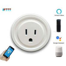Smart US Plug Socket Wifi Adapter Outlet Tuya App Remote Wireless Control Switch Smart Google Home IFTTT Alexa Drop Shipping все цены