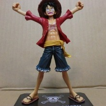 Cosplay One Piece Anime Figuarts Zero Monkey D. Luffy PVC Figure Collection the New World Toy 16cm With Box