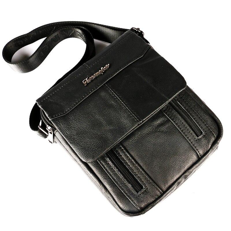 do homensageiro homem crossbody satchel Exterior : Abra o Bolso