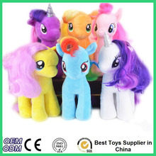 New 19cm minecraft my cute lovely little horse stuffed Plush toy poni Unicorn Rainbow Dash dolls toys for Children free shipping