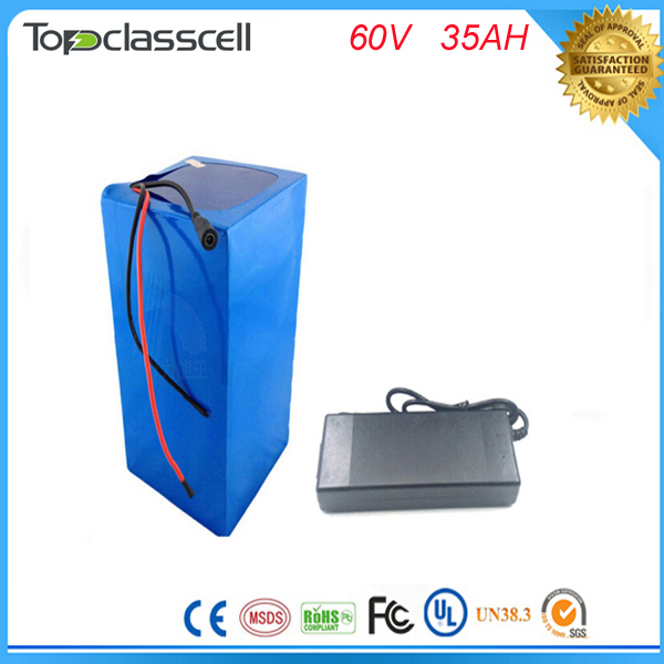 Free customs taxes lithium battery 60V 35Ah electric bike battery 60V 3000W electric scooter battery with 2A charger and 50A BMS 72v 40ah lithium battery super power electric bike battery 84v lithium ion battery pack charger bms free customs duty