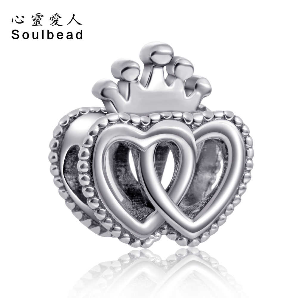 Soulbead לפנדורה קסמי כסף 925 מקורי ארצות ריגל לבבות כסף מקורי מתנות עבור אמהות וילדים