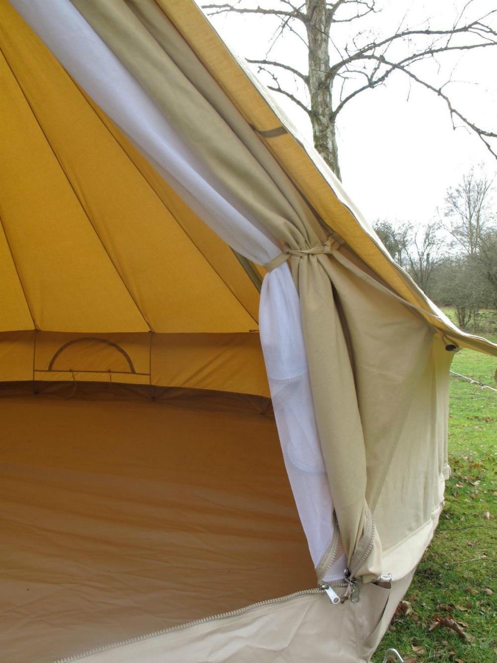 DANCHEL 4M Meter 13 Feet Diameter Canvas Bell Tent Outdoor All Season Sun Shade Travel Waterproof 400 Ultimate Tent-in Tents from Sports u0026 Entertainment on ... & DANCHEL 4M Meter 13 Feet Diameter Canvas Bell Tent Outdoor All ...