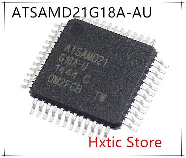 NEW 10PCS/LOT ATSAMD21G18 ATSAMD21G18A ATSAMD21G18A-AU