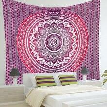 Nueva indio mandala tapiz colgante de pared impreso playa tiro toalla yoga estera de cama outlet decoración 210×150 cm venta caliente