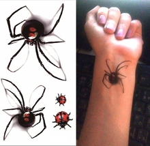df03c22d220fb Buy 3d tattoo flash tattoos spider and get free shipping on AliExpress.com