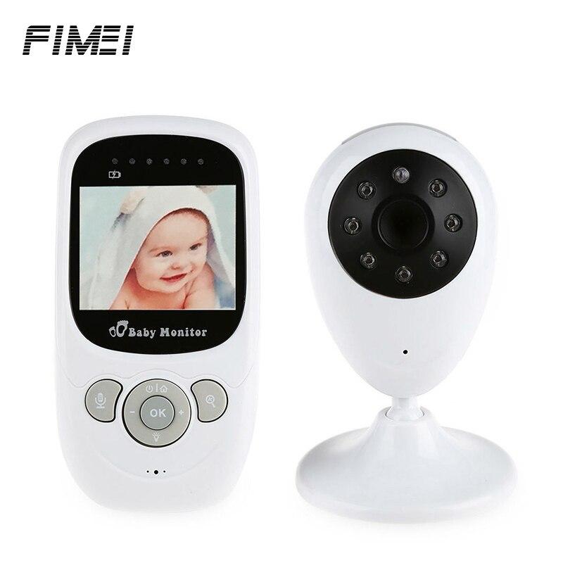Fimei sp880 2.4 г Беспроводной для видео Мониторы с Ночное видение Двусторонняя обсуждение 2.4 дюймов ЖК-дисплей Дисплей Температура Мониторы сост...