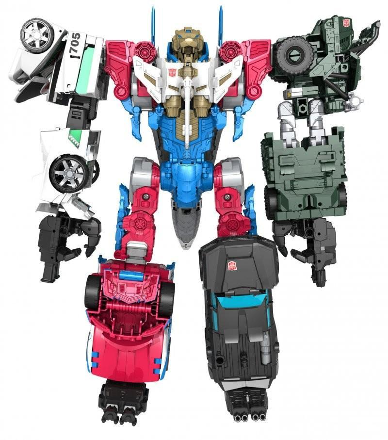 5Pcs/Set Sky Lynx Trailbreaker Hound Smokescreen Wheeljack Make Up To a Bigger One Action Figures without retail box larry sternberg managing to make a difference