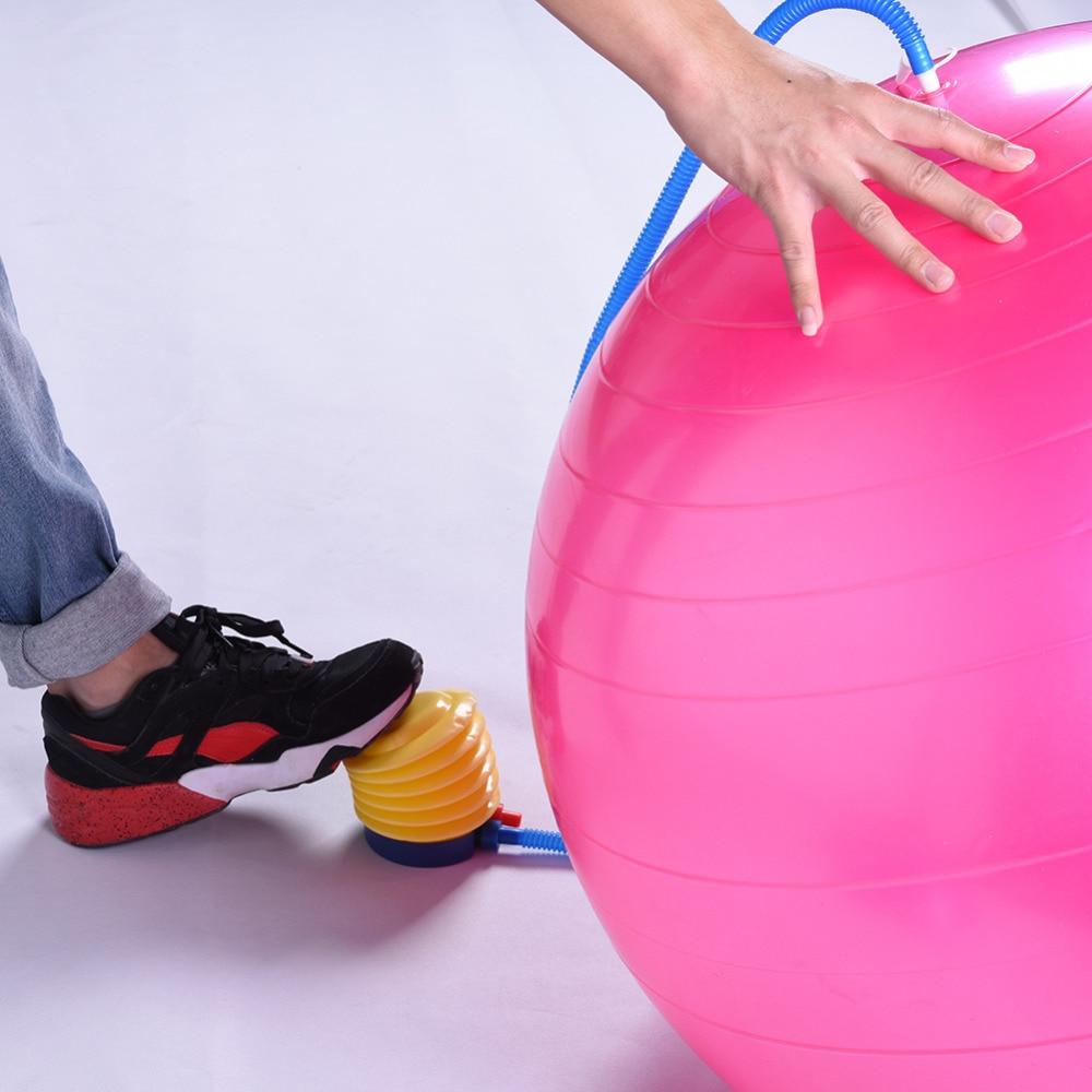 Gym Ball Bola Fitnes Pilates 65cm Yoga Exercise Art Pompa Size65cm Fitness Bonus Angin Fitball Smooth Balance With Pump Professional