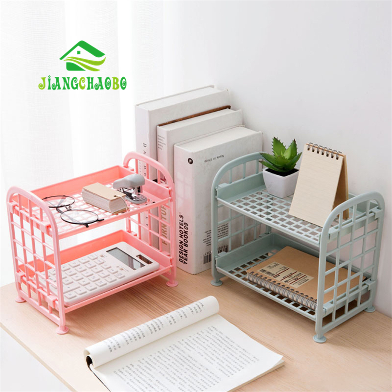 JiangChaoBo Bathroom Multi-Storey Floor Storage Rack Bathroom Kitchen Plastic Finishing Rack Bathroom Wash Shelf Shelves
