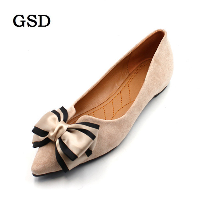 Newest Woman Flock Pure Color Ballet Flats Elegant Comfortable Lady Fashion Mixed Color Bowknot Women Shoes Flats Zapatos Mujer Newest Woman Flock Pure Color Ballet Flats Elegant Comfortable Lady Fashion Mixed Color Bowknot Women Shoes Flats Zapatos Mujer