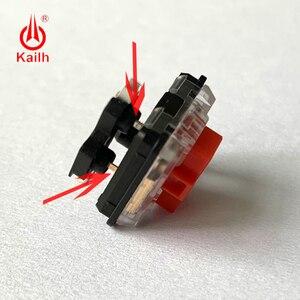 Image 5 - Kailh tomada de troca quente para baixo perfil 1350 interruptores de chocolate no teclado mecânico pcb tomada diy modificação base