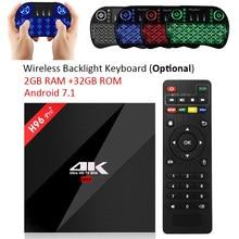 H96 Pro + ТВ Box Amlogic S912 3 ГБ 32 ГБ Octa core Android OS 7.1 BT 4.1 2.4 ГГц + 5.0 ГГц Wi-Fi Мини-ПК Media Player Smart Декодер каналов кабельного телевидения