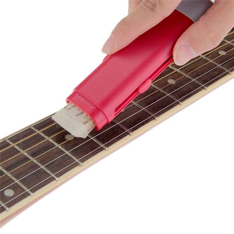 Электрические Гитары бас строка очиститель ржавчины удалить ручка с строка смазывать подходит для всех строка музыкальный инструмент Сред...