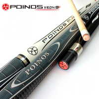 2018 New Arrival Hardwood Canadian Maple Pool Cues Billiard Table Stick 1/2 Pool Cues Sticks Billiard Cues Pool Stick