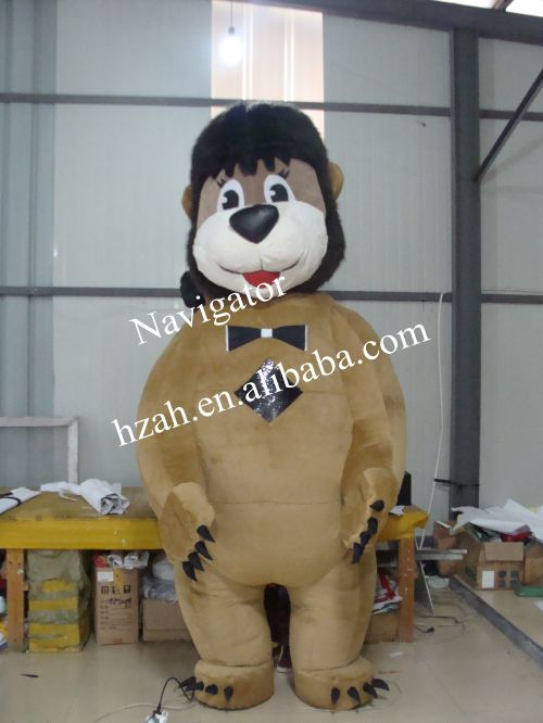 Hot Sale Inflatable Lion Costume ao058m 2m hot selling inflatable advertising helium balloon ball pvc helium balioon inflatable sphere sky balloon for sale
