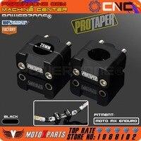 Pro Taper HandleBar Fat Bar Risers Mount Clamp Adapter 7 8 1 1 8 Universal Solid