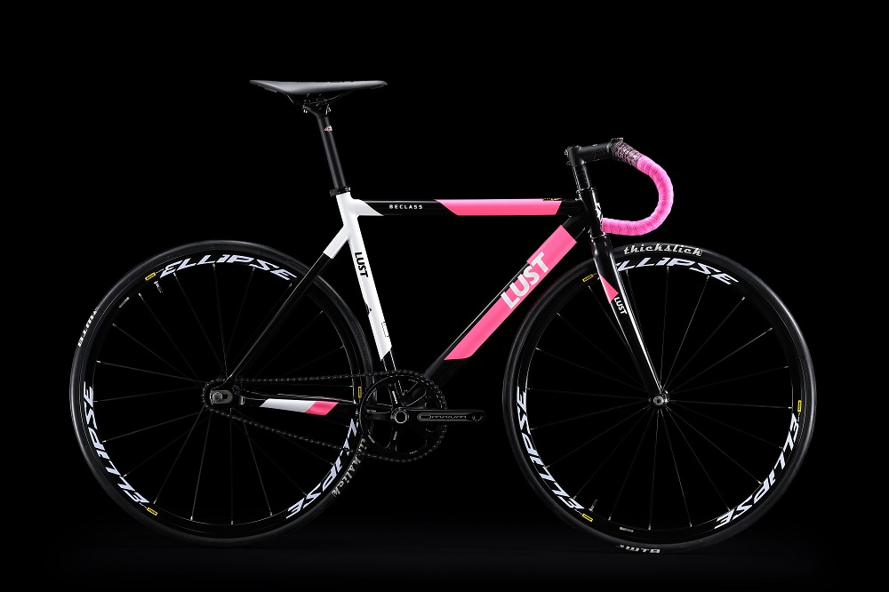 2018 NEW ARRIVAL SINGLE SPPED  FIX GEAR TRACK BIKE WITH MAVIC Ellipse  WHEELSETS AND SRAM Omnium Track Crank