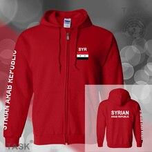 Syria Syrian Arab mens hoodies and sweatshirt jerseys polo sweat suit streetwear tracksuit nation fleece zipper flag SYR SY 2017