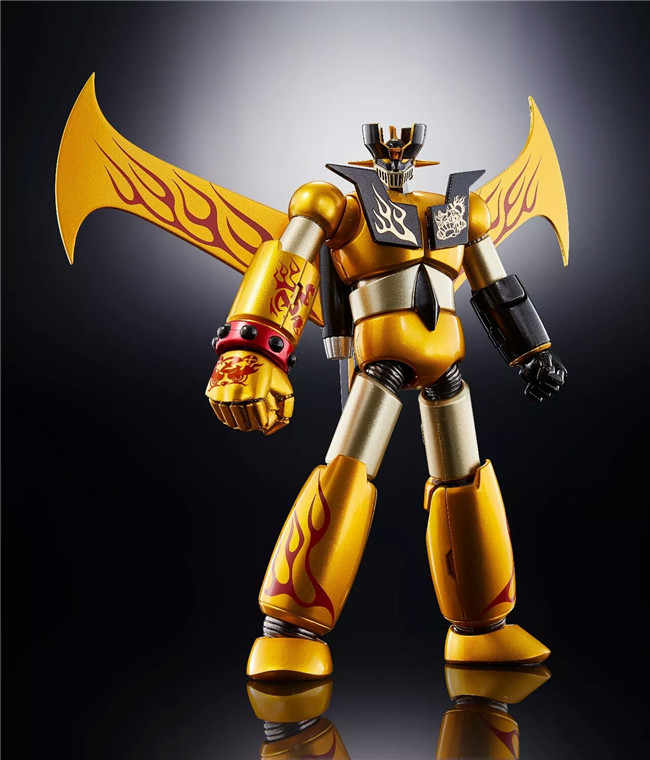 Echte Bandai Tamashii Naties Super Robot Chogokin Mazinger Z Mazinger Z JAAR MODEL 2018 Limited ver. Action Figure
