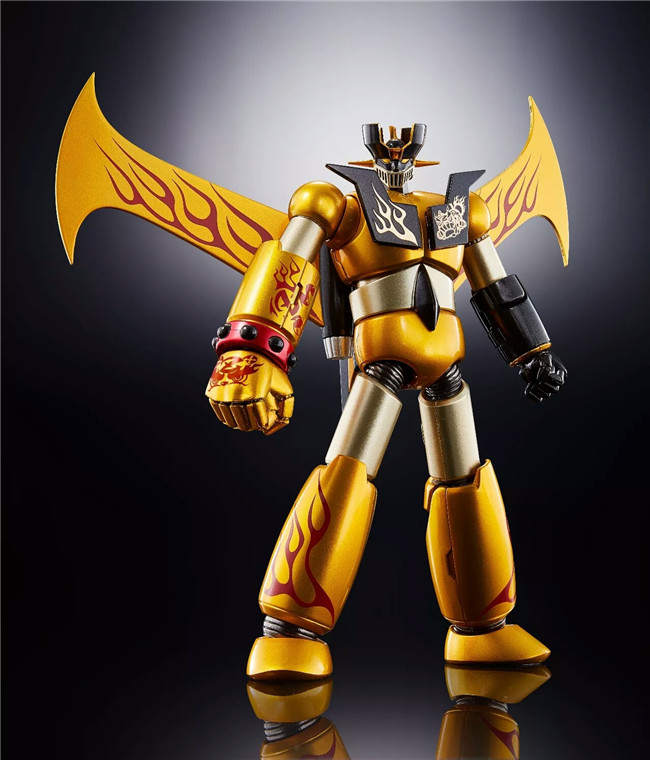 Genuine <font><b>Bandai</b></font> Tamashii Nations Super Robot Chogokin <font><b>Mazinger</b></font> <font><b>Z</b></font> <font><b>Mazinger</b></font> <font><b>Z</b></font> YEAR MODEL 2018 Limited ver. <font><b>Action</b></font> <font><b>Figure</b></font> image