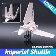 LEPIN 05034 Usb-stick-sterne-krieg-serie Die Imperial Shuttle Gebäude Montiert Blocks Bricks Spielzeug Kompatibel mit 10212
