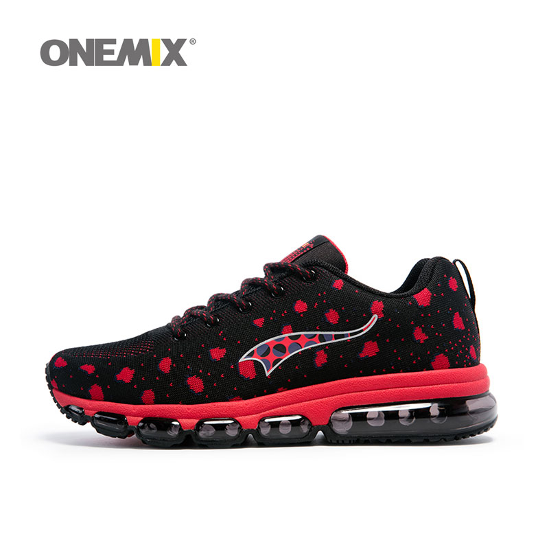 ONEMIX Men's Sports Running shoes Max Comfortable Women's Sneakers Breathable Mesh Outdoor Athletic light Shoes Size 36-46 apple summer new arrival men s light mesh sports running shoes breathable fly knit leisure comfortable slip on sneakers ap9001