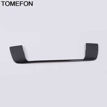 TOMEFON For Nissan Altima Teana 2019 Front Up Center Console GPS Navigation Box Cover Trim Interior Accessories Stainless Steel image