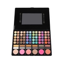 A Professional Naked 78 Colors MakeUp Eyeshadow Palette Highlighting Blusher Concealer Eye Shadow Make Up Kit