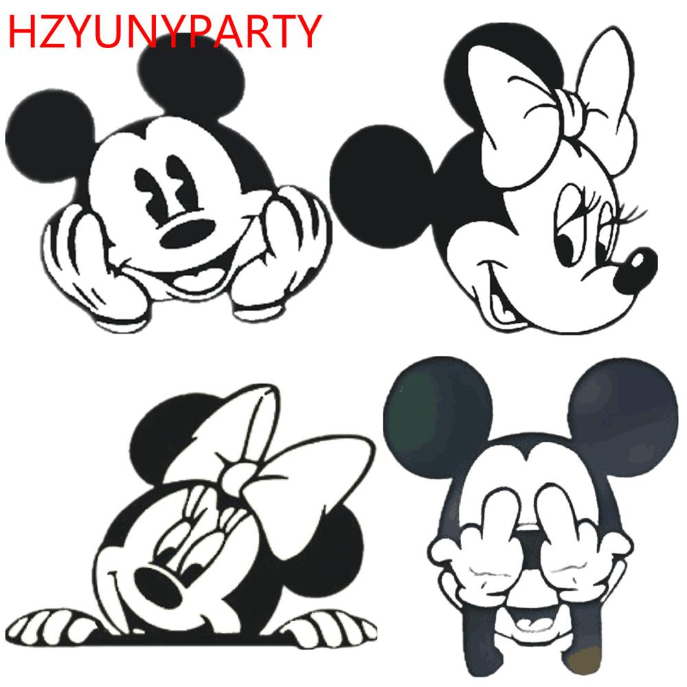 New Mickey Minnie Love Bow Head Metal Cut Dies Stencils For Scrapbooking Stamp/photo Album Decorative Embossing DIY Paper Cards