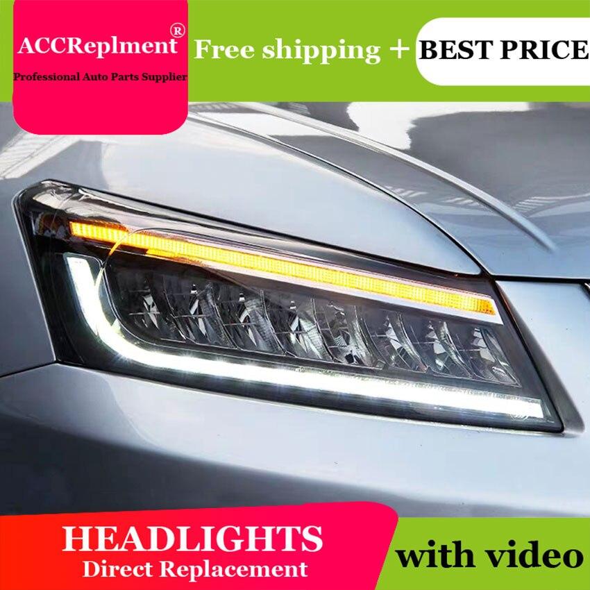 Style de voiture pour Honda accord 2008-2012 phares angel eyes 2008-2012 pour Honda accord lumière LED bar Q5 bi xénon lentille h7 xénon