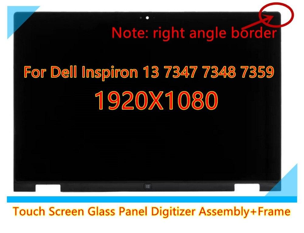 13,3 для Dell Inspiron 13 7347 7348 7359 LTN133HL03 201 1920*1080 1366X768 сенсорный ЖК экран светодиодный сенсорный дигитайзер в сборе