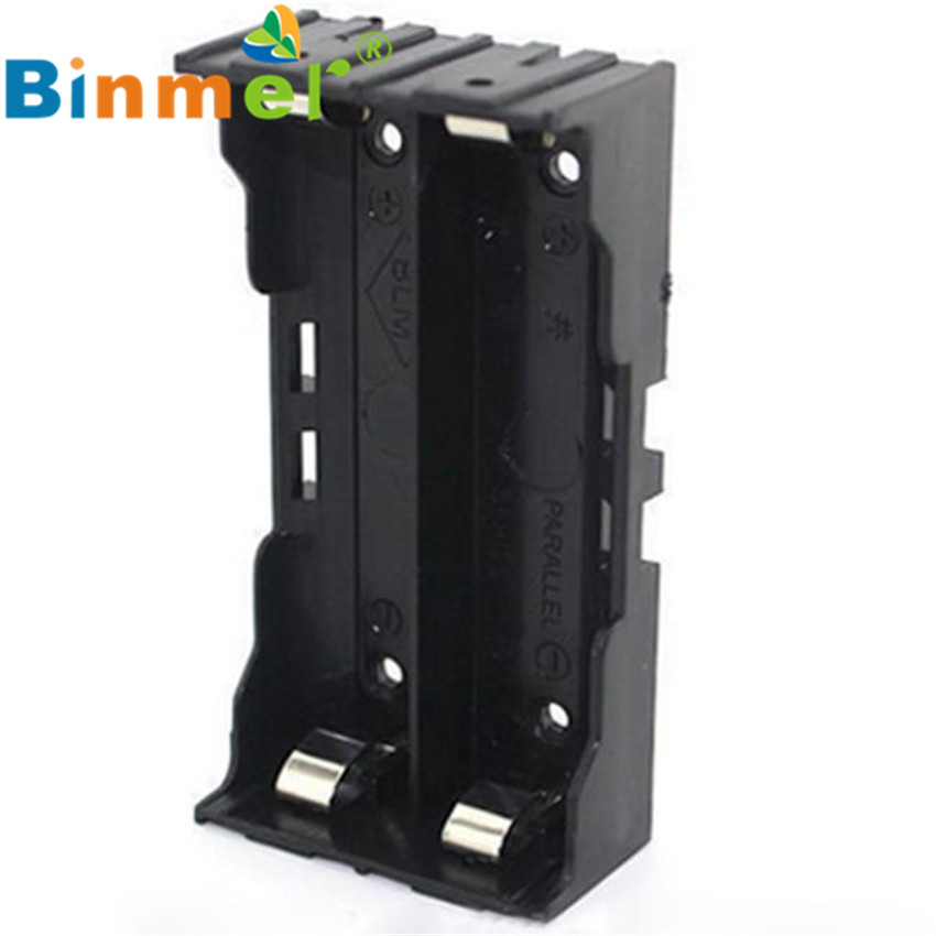 #8 2016 DIY Storage Box Holder Case For 2 X 18650 3.7V Rechargeable Ba