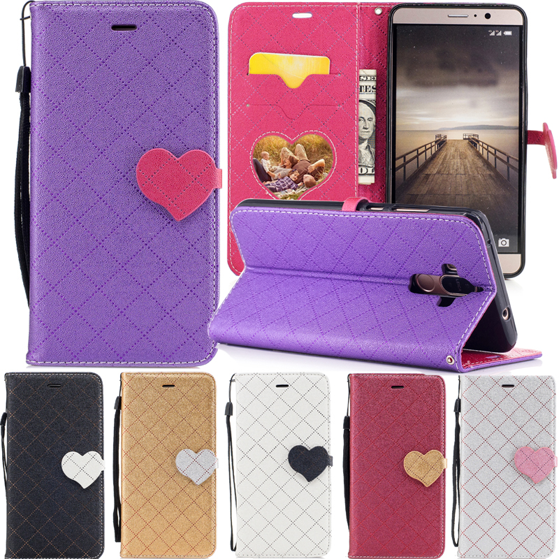 Flip Phone Case For Huawei P10 Cell Leather Silicon Cover for coque Huawei P10 P 10 back case Hit color stripe P10 phone bags