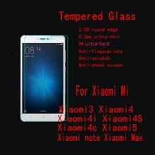 5 шт./партия FENGHEMEI Закаленное стекло протектор для mi Xiao mi 4 4i 4S 4C 5 5C 5X 5s Plus не лопающийся пленка с бесплатной доставкой