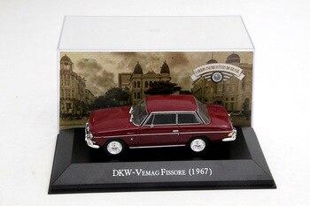 IXO alyton escala 143 DKW-Venmag Fissore 1967 coches de juguete Diecast modelos Edición Limitada