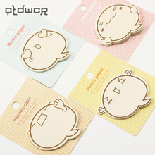Creative Stationery Notepad Memo-Pad Sticky-Notes Paper-Sticker Office-Supplies Times
