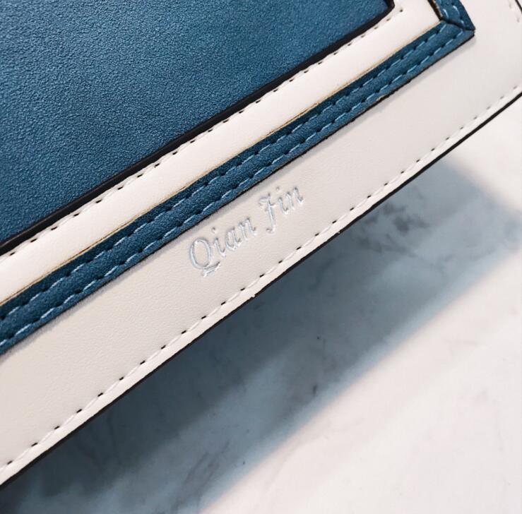 blue Rappezzatura Largo Delle Bag Della 165 Pink Di In Dell'unità Elaborazione Messenger Crossbody Tracolla Donne Pelle Femminile Cinturino Flap Sacchetto Del white qXpwX