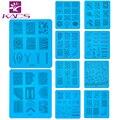 Sistema de desarrollo de CONOCIMIENTOS Sello nail art Stamping Placas De Acero Inoxidable Consejos de BRICOLAJE Nail Art Stamping Imagen Plantillas Sello Polaco Tool Accessory