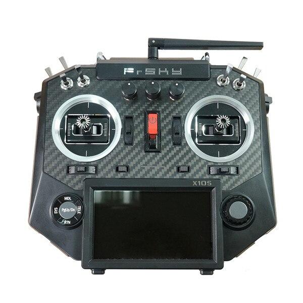 Version de mise à jour Frsky Horus x10s 2.4G 16CH émetteur rc TX intégré iXJT + module télécommande pour drone hélicoptère FPV RC
